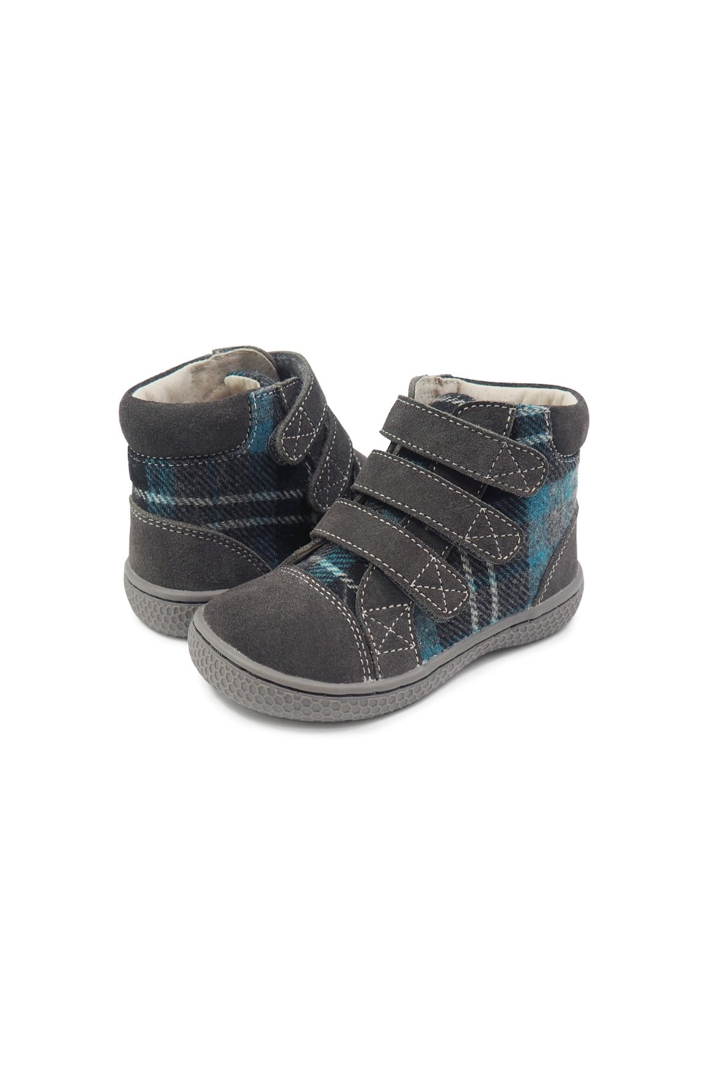 Livie and Luca Jamie Gray Plaid