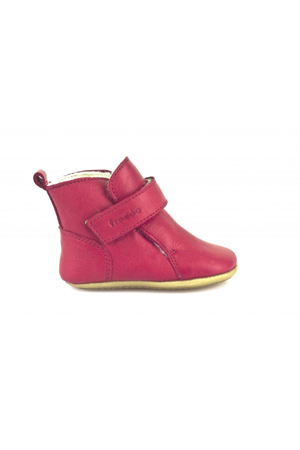 Froddo Prewalkers BOOTS Red -kolekcia zima 2017/2018/2019