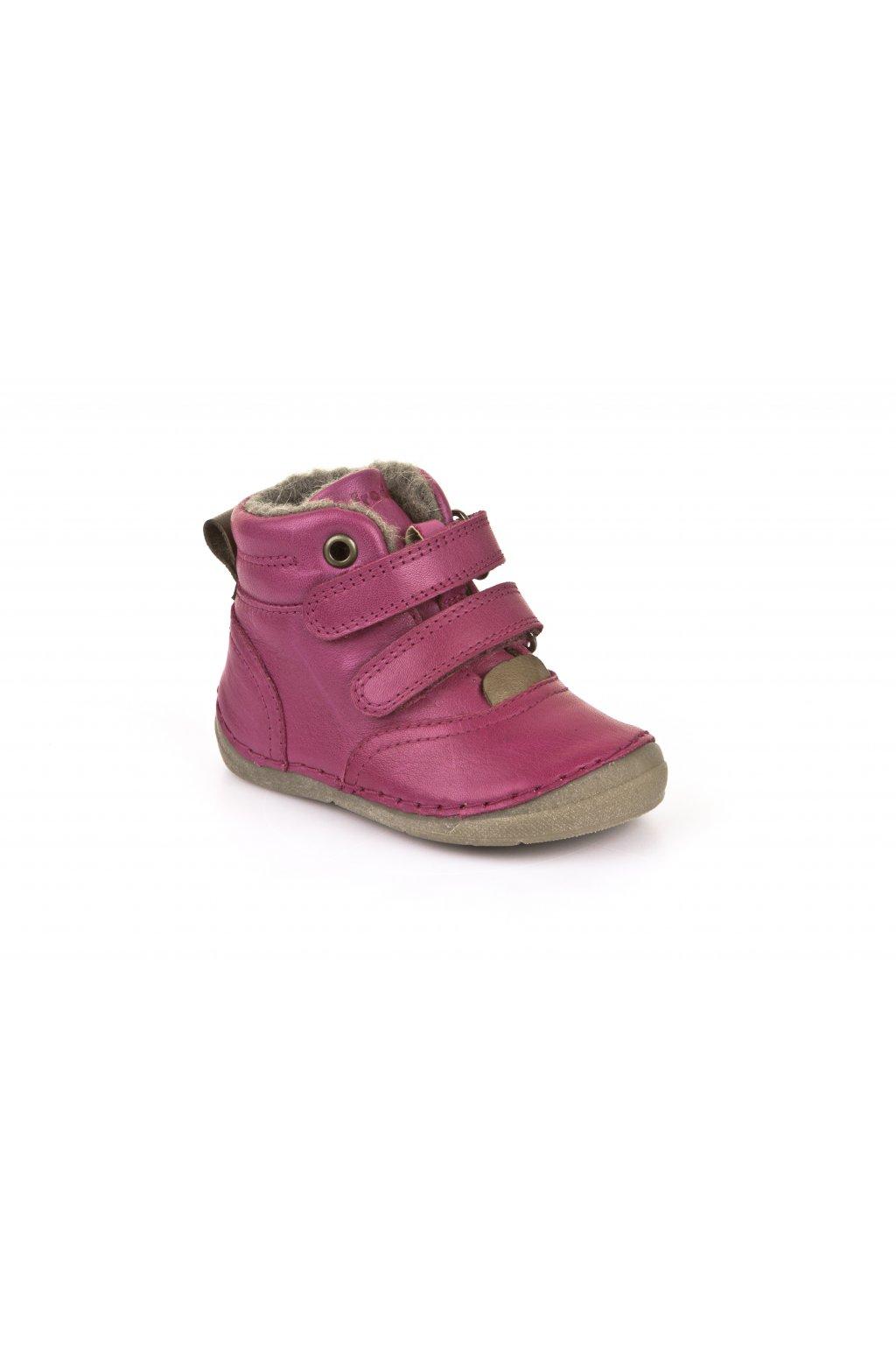 Froddo Ankle Boots Fuchsia- Jahňacia Kožušina