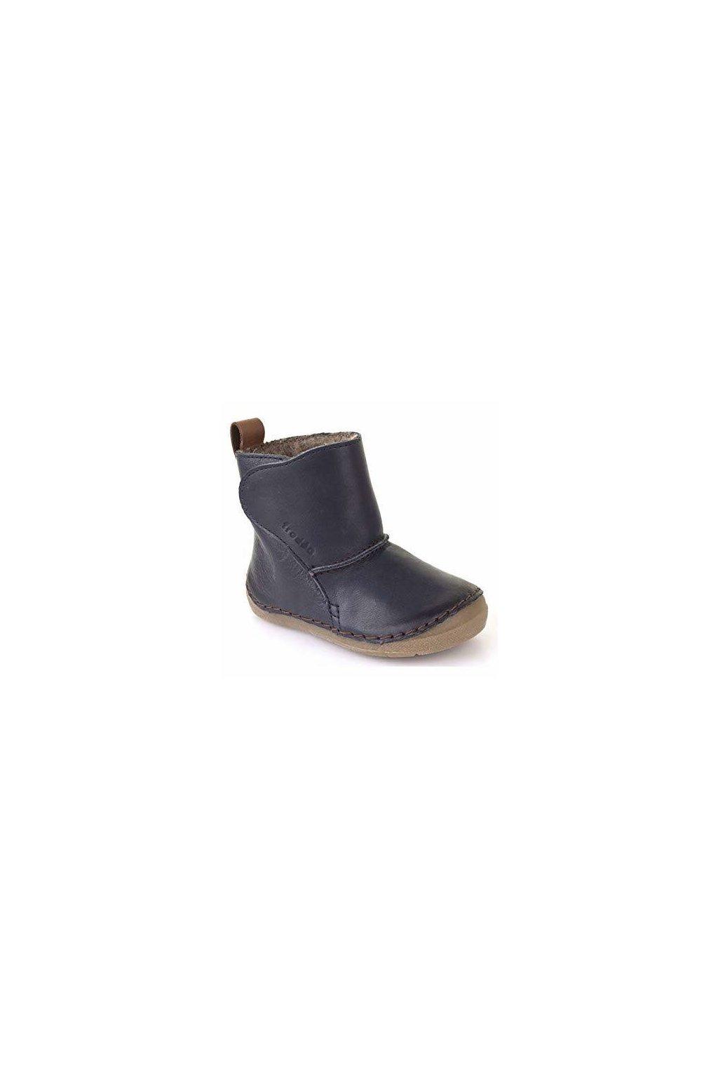 Froddo Boots Dark Blue - Jahňacia Kožušina