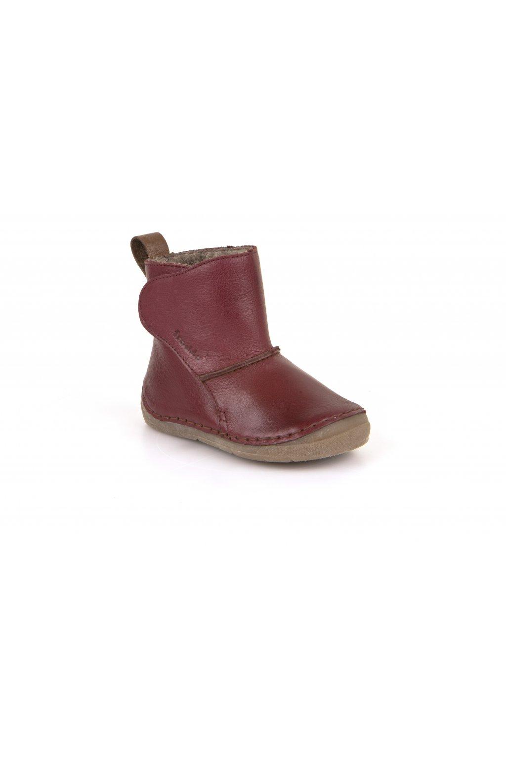 Froddo Boots Bordeaux- Jahňacia Kožušina