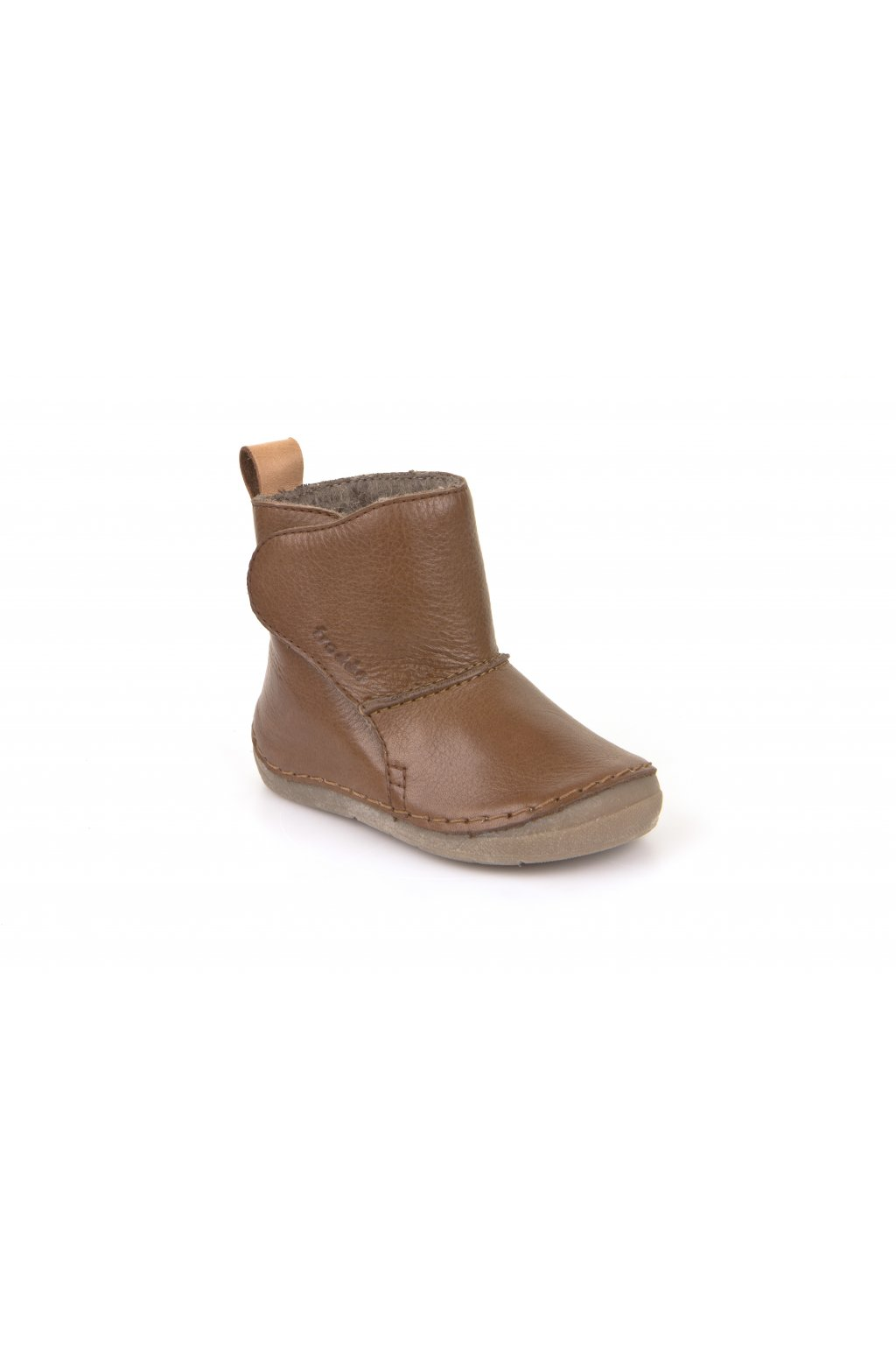 Froddo Boots Brown -Jahňacia Kožušina