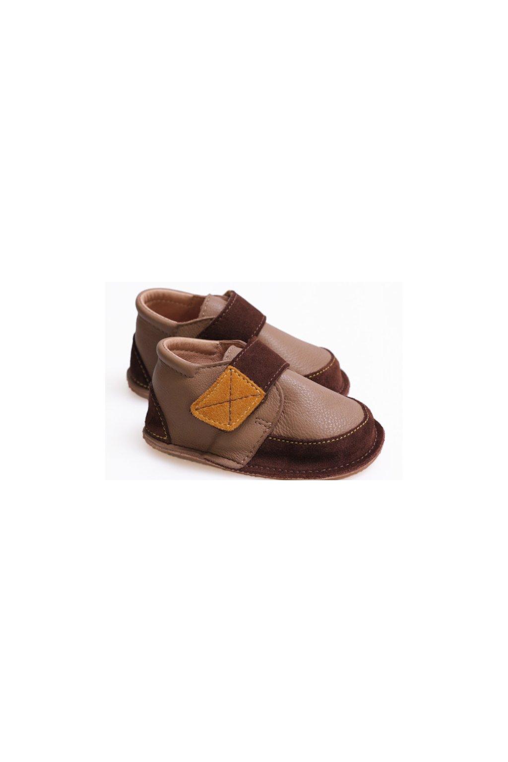 Tikki Vibram boots - Brown Delight