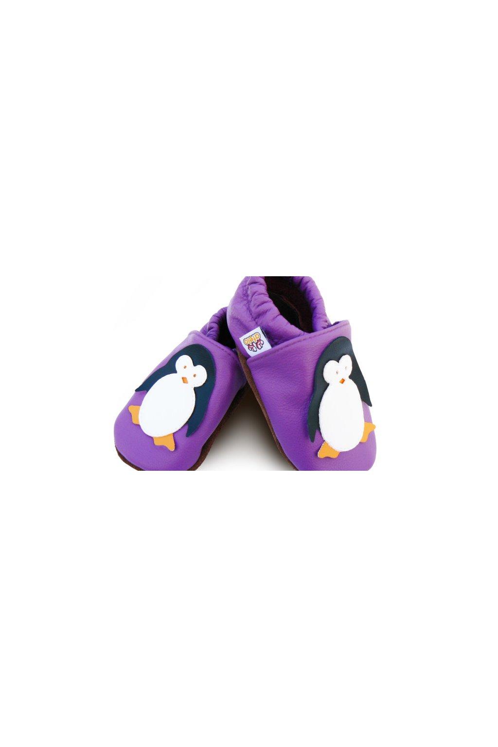 Capačky Afelo Penguin Rico Violet