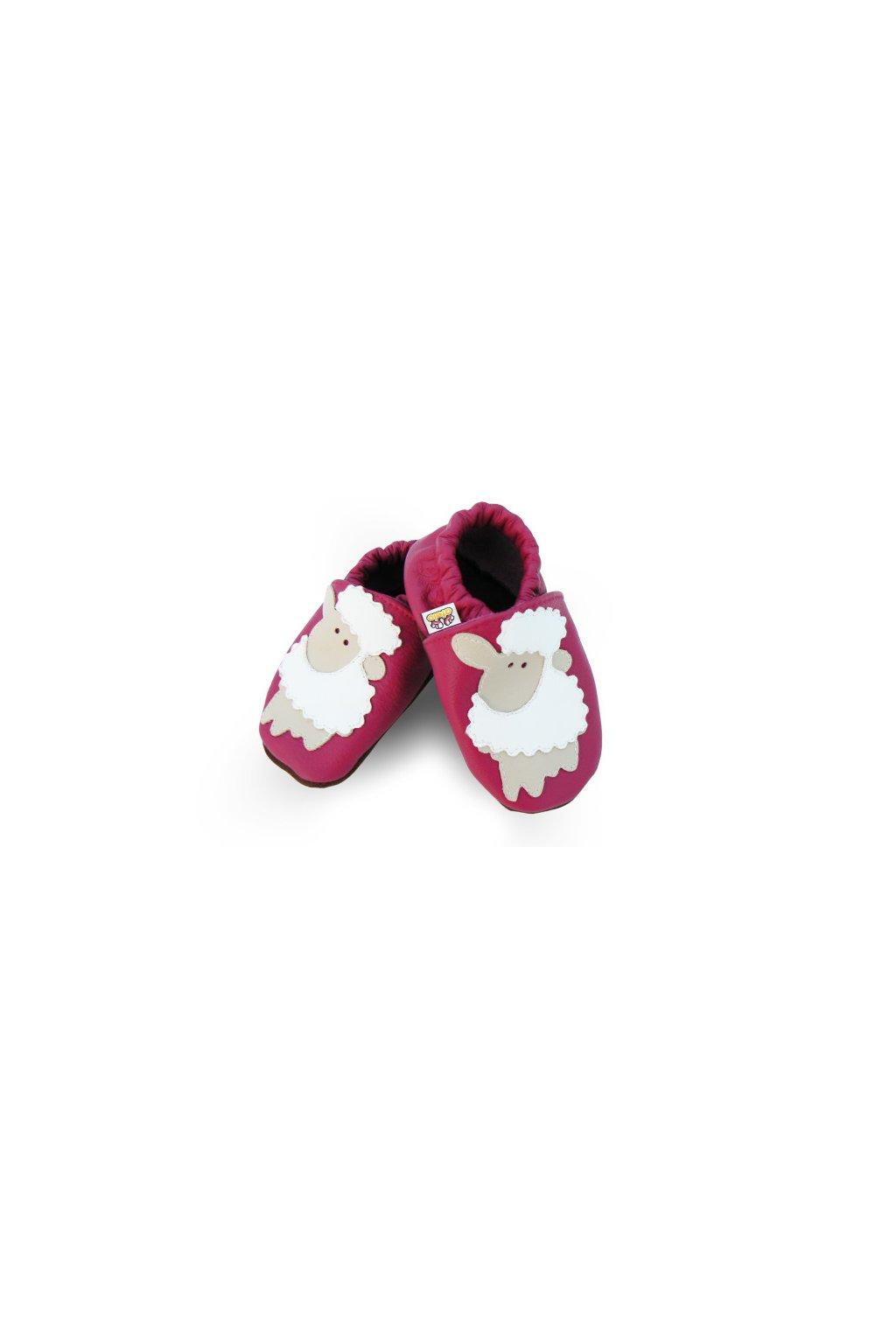 Capačky Afelo Sheep Pink