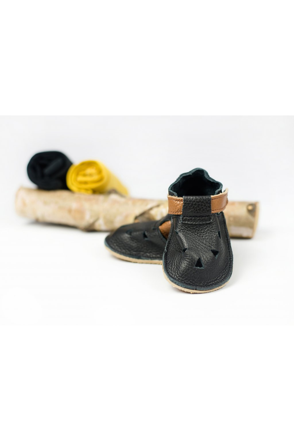 Baby Bare Shoes IO Lion - Front Perforation