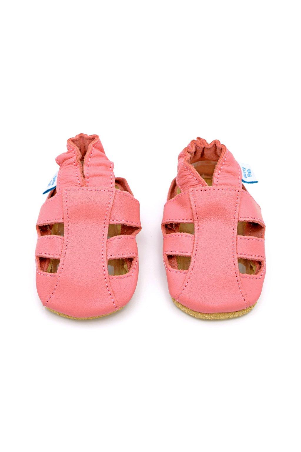 Dotty Fish Pink sandals