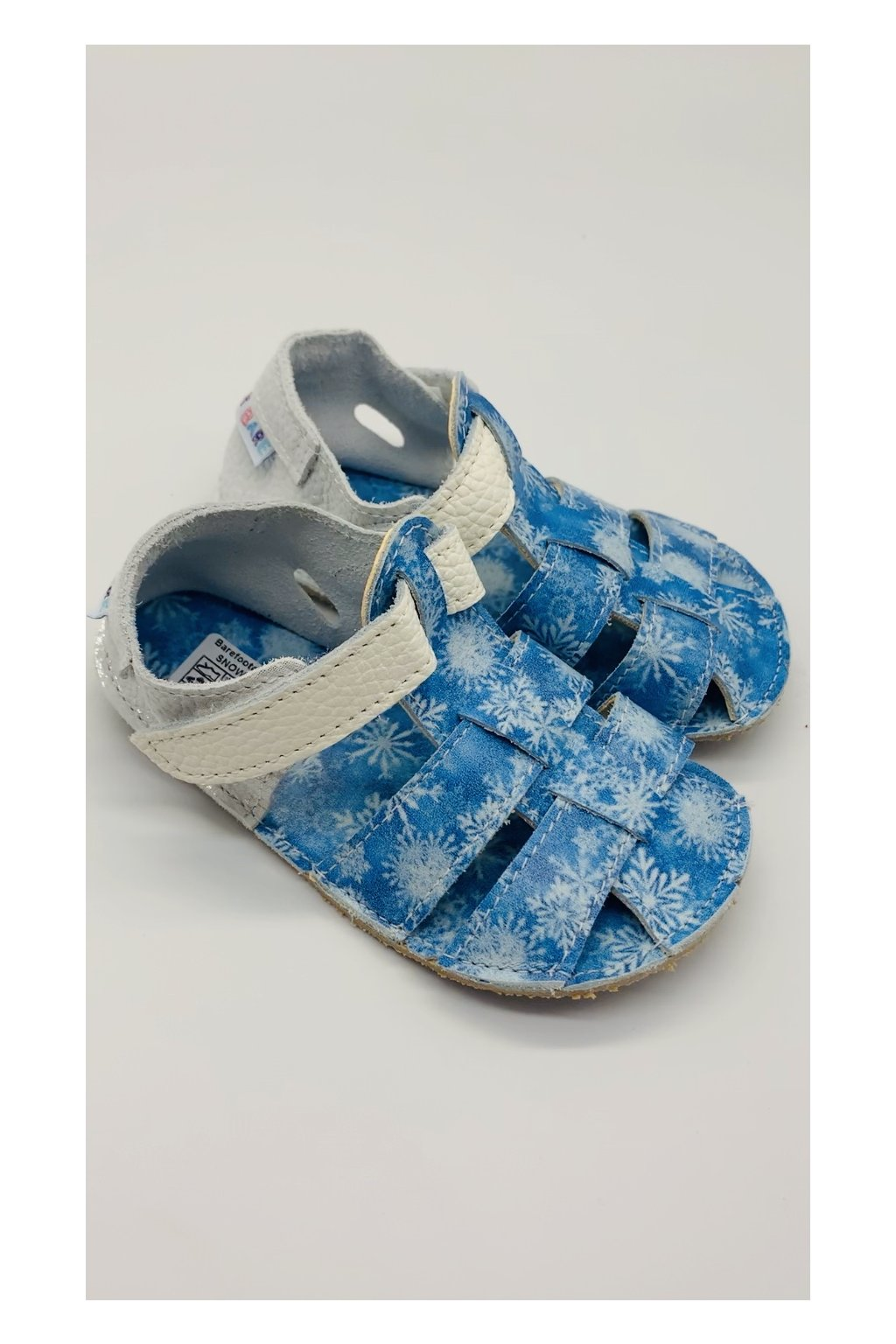 Baby Bare Shoes Snowflakes - Sandals New