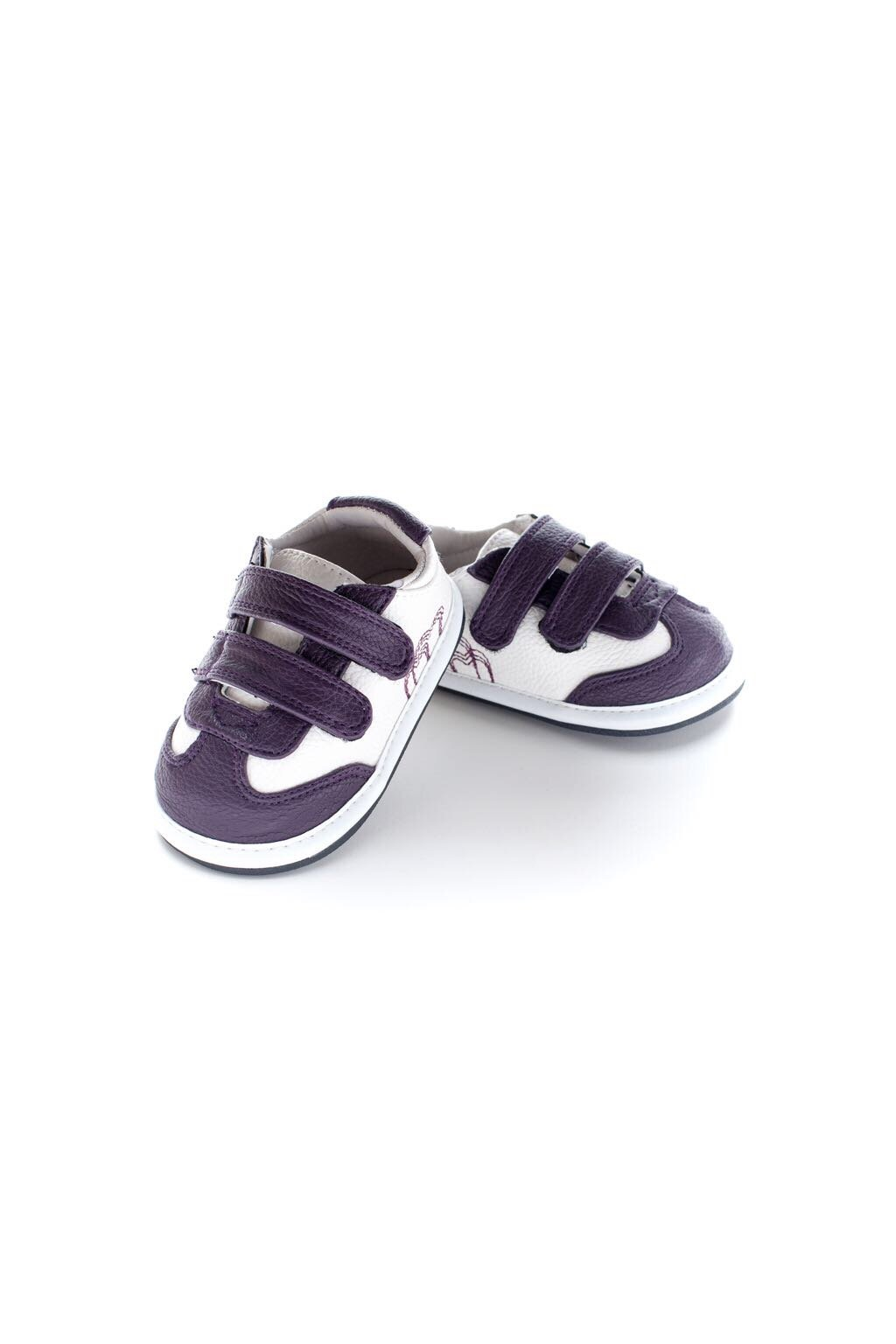 Jack and Lily Double Strap White/Purple