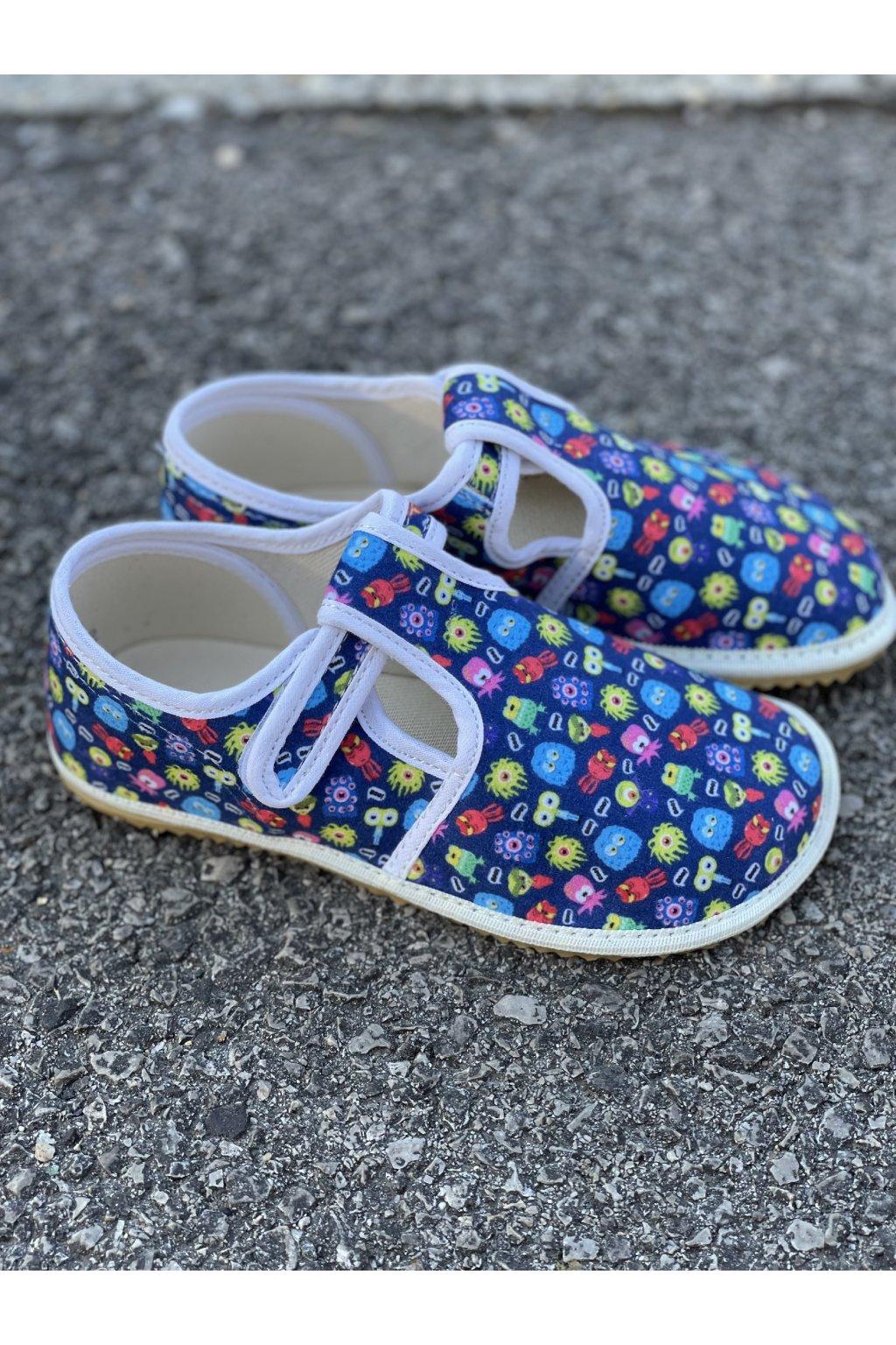 Jonap papučky Modre bakterie