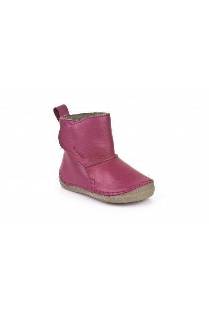 Froddo Boots Fuchsia- Jahňacia Kožušina