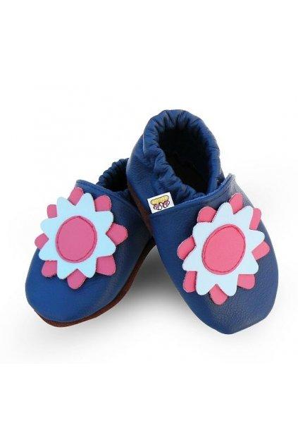 Capačky Afelo Flower Blue