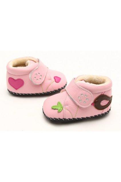 Freycoo Baby čižmičky Nara - ružové