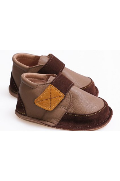 Tikki Vibram boots - Brown Delight