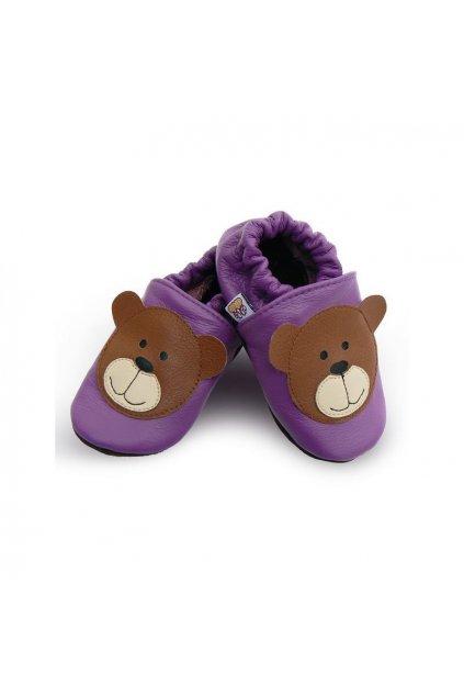 Capačky Afelo Bear violet