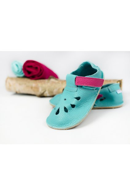 Baby Bare Shoes IO Flower - Front Perforation