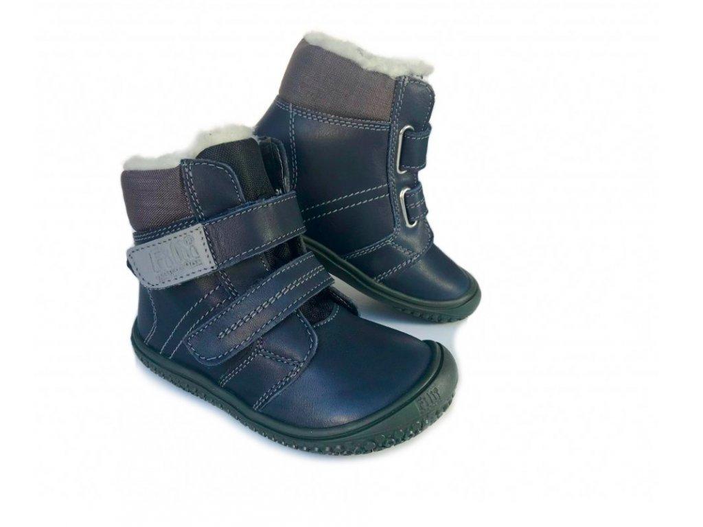 6222 zimni boty filii z hladke kuze s vlnou a membranou