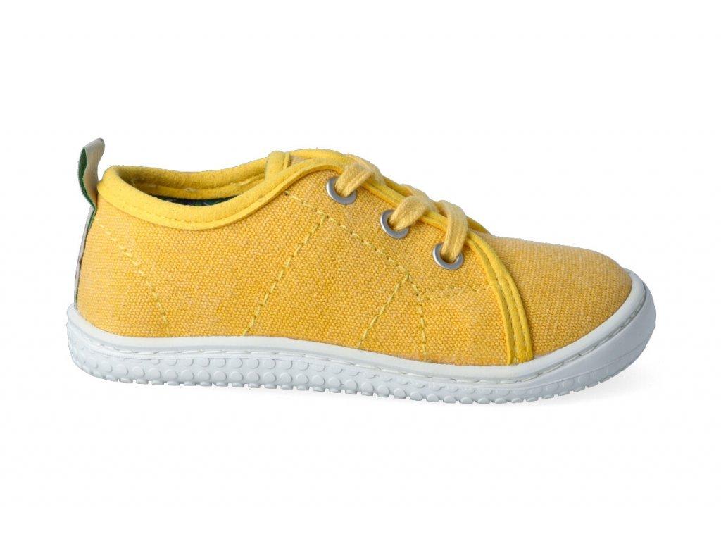 11921 1 barefoot tenisky filii maui canvas vegan citrone m 2