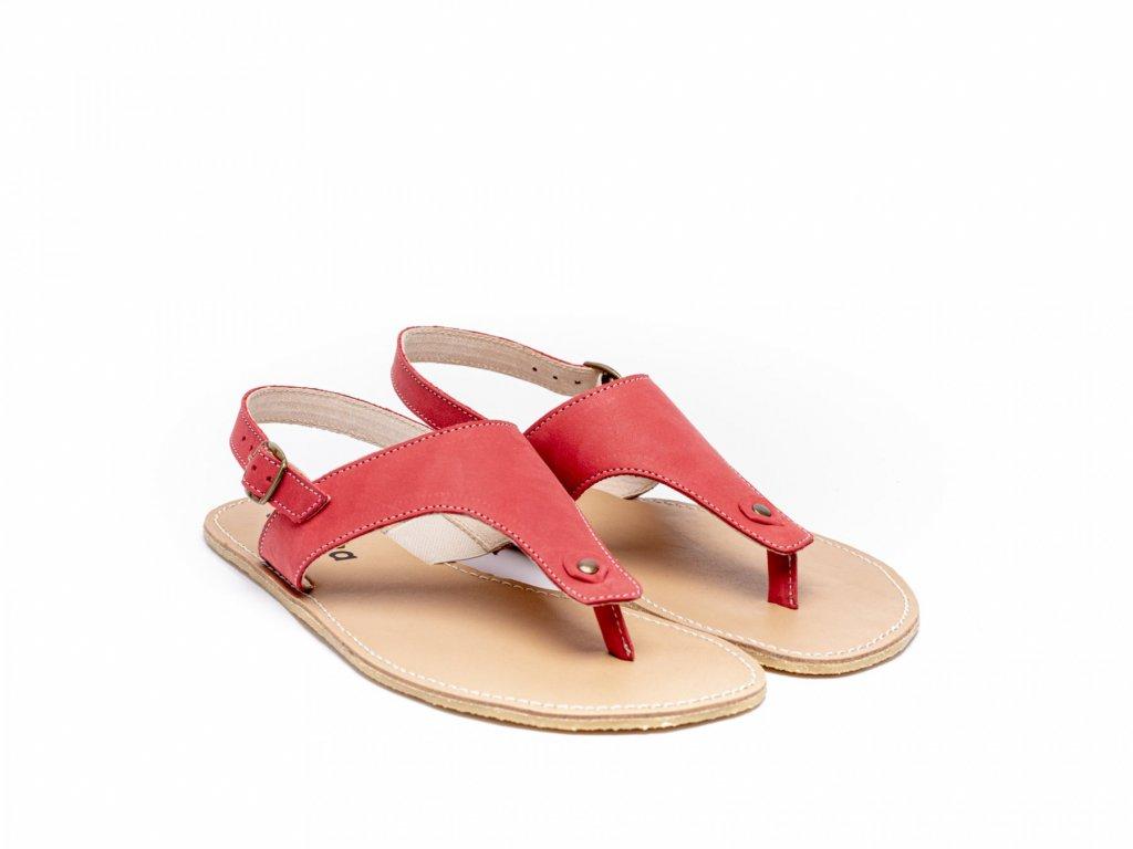 barefoot sandale be lenka promenade red 2043 size large v 1