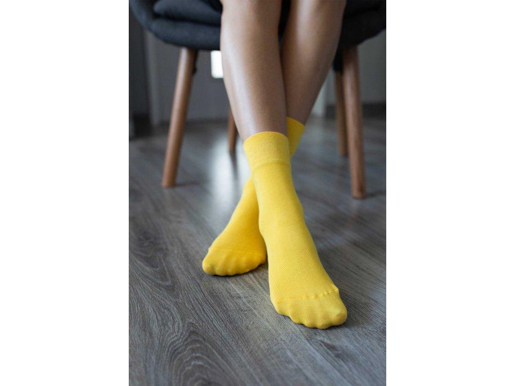 barefoot ponozky zlte 4582 size large v 1