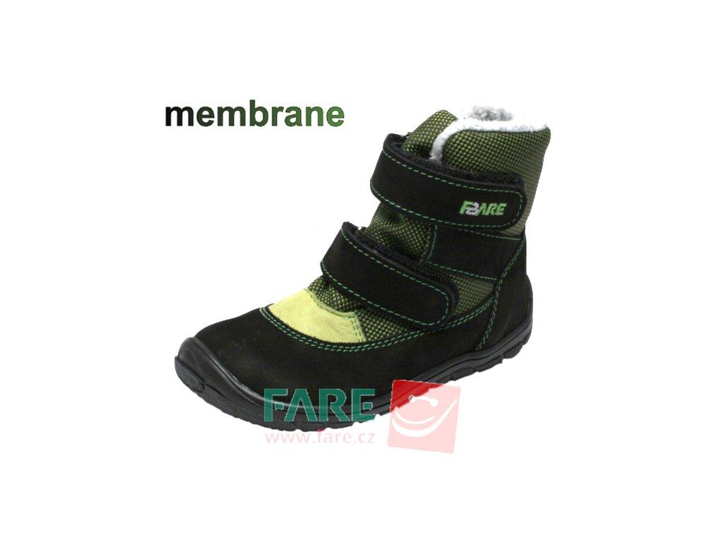 FARE BARE dětské zimní s membránou B441231 černé