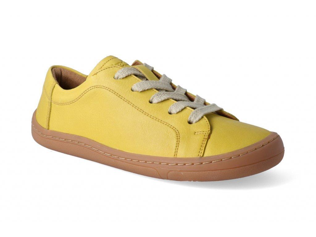 17705 2 barefoot tenisky froddo bf yellow tkanicka