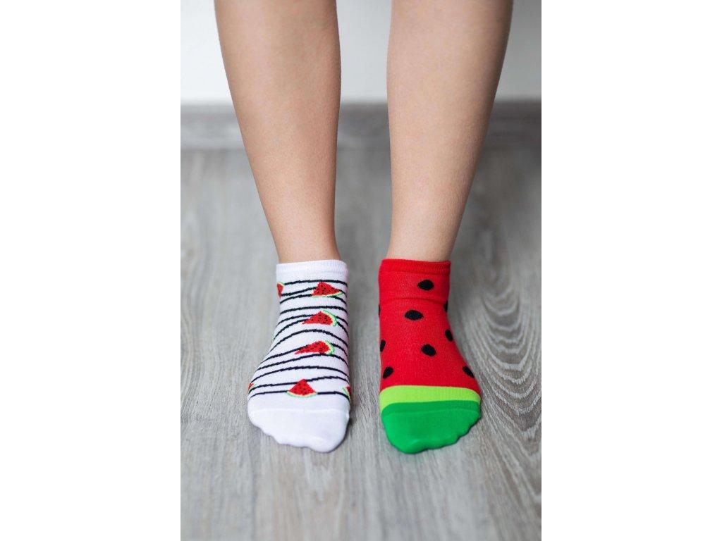 barefoot ponozky kratke melon 17566 size large v 1