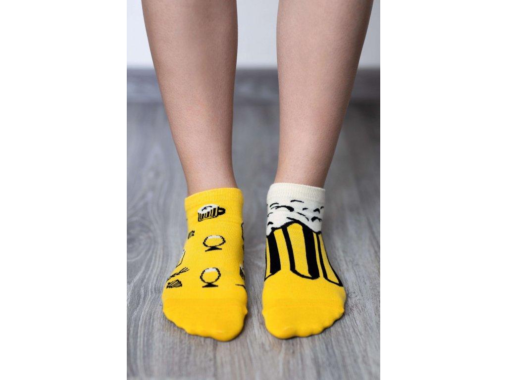 barefoot ponozky kratke pivo 17473 size large v 1