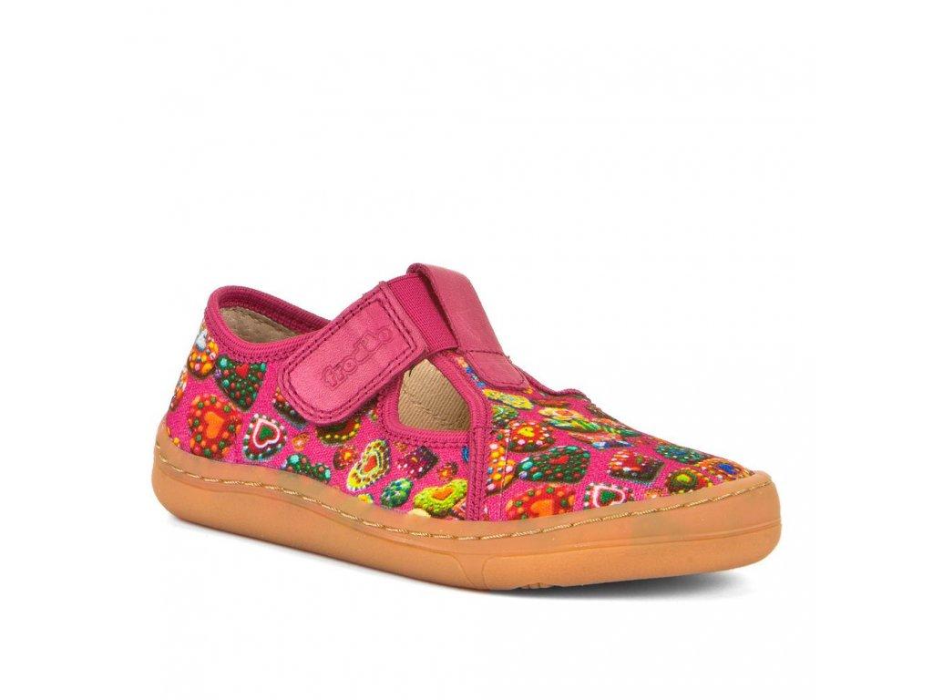 Froddo Barefoot Slipper G1700303-1 Fuchsia