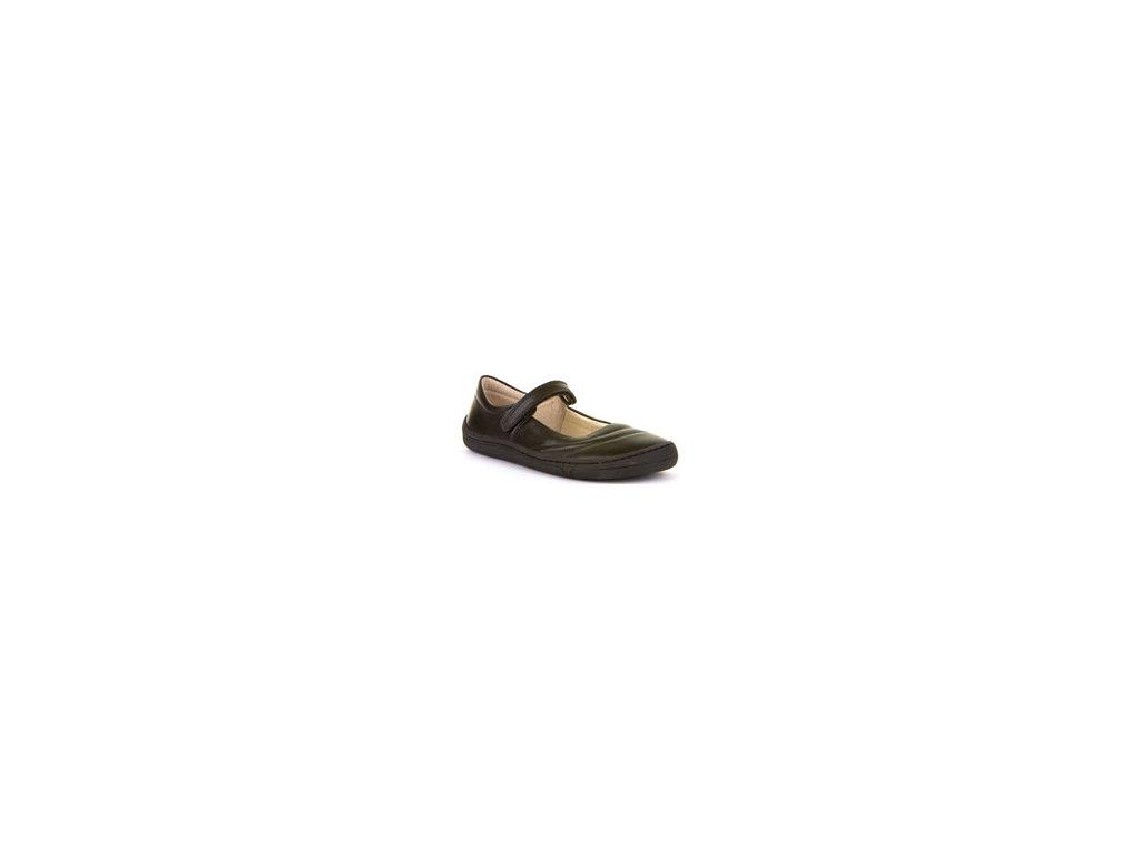 Froddo Barefoot Junior baleríny G3140129 Black