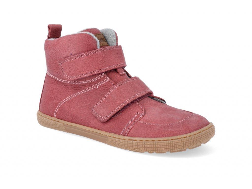 23664 1 barefoot zateplena obuv koel4kids dark hidro warm blossom 32 41 2