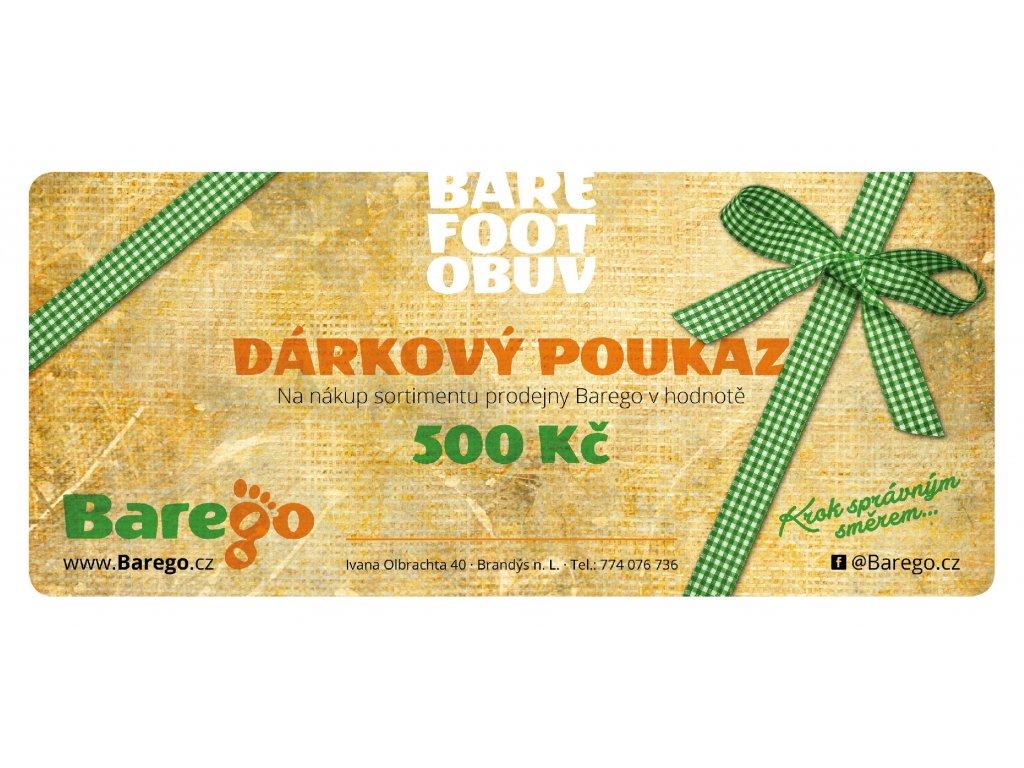BareGo DarkovyPoukaz 04 500