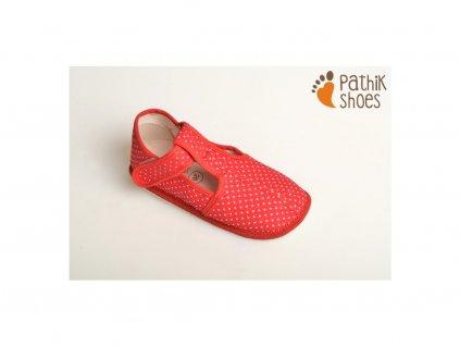 Pathik - bačkory PAP-03 červené