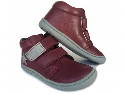 5083 1 kotnikova barefoot obuv filii chameleon nappa berry fleece m