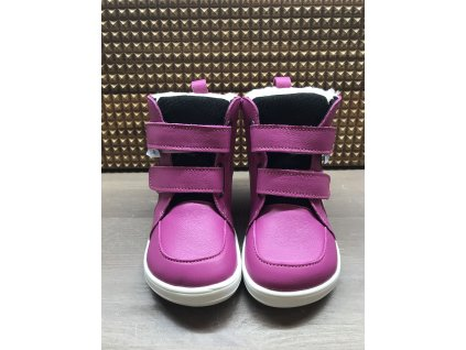 Baby Bare Shoes Febo Winter Fuchsia