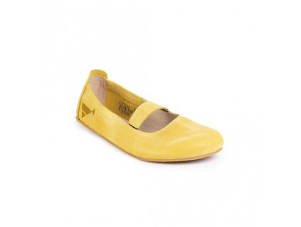 Angles Fashion - balerínky Afrodita, žlutá