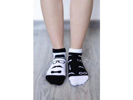 barefoot ponozky kratke gentleman 16540 size large v 1