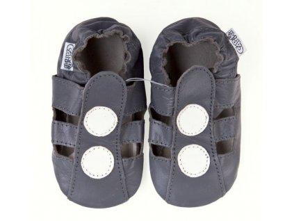 capáčky sandálky šedé (1)