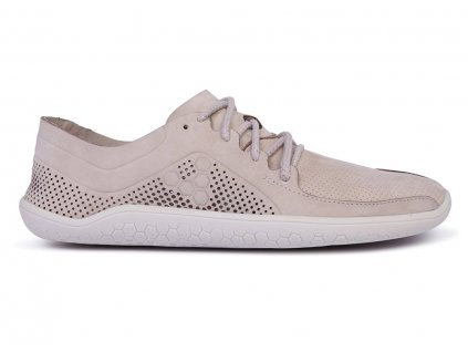 VIVOBAREFOOT PRIMUS LUX L LEATHER LIGHT GREY