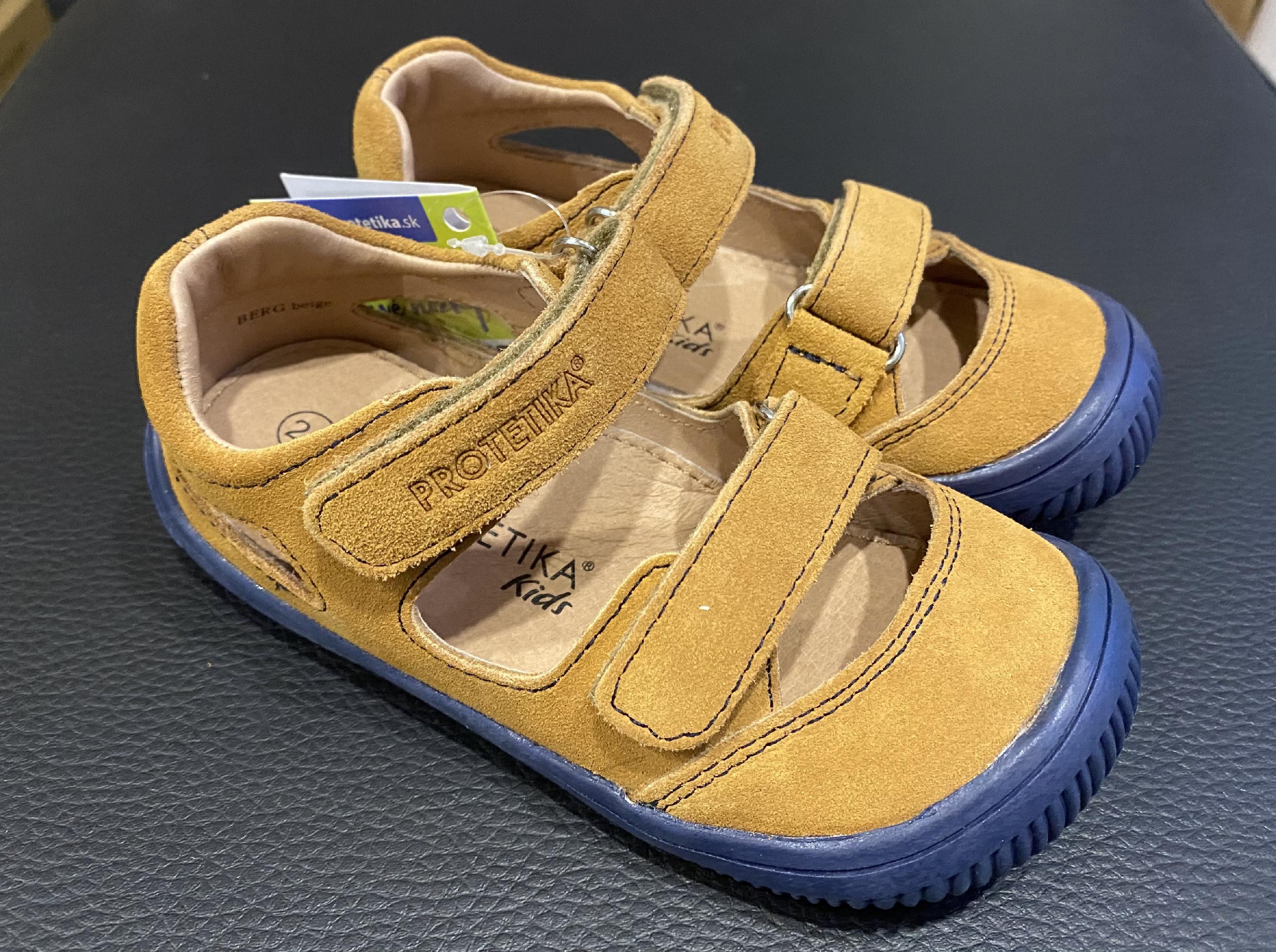Protetika BERG sandále Beige Velikost obuvi: 24