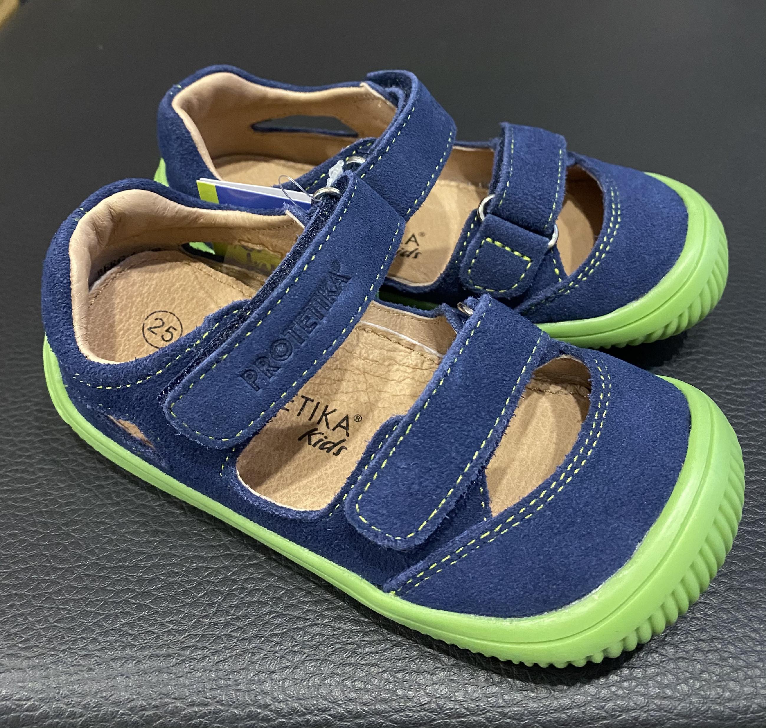Protetika BERG sandále Denim Velikost obuvi: 24
