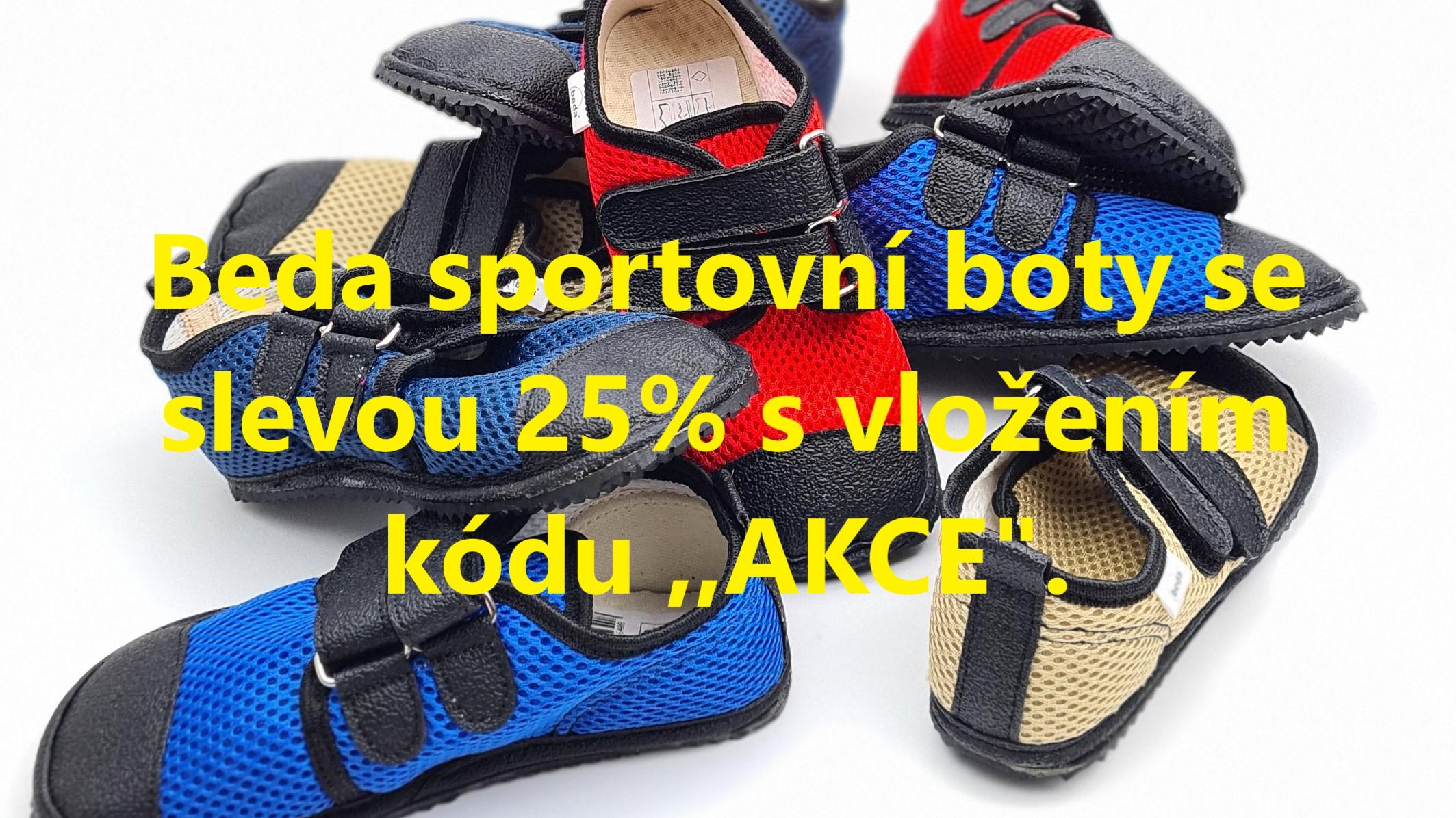 Akce Beda sportovní boty