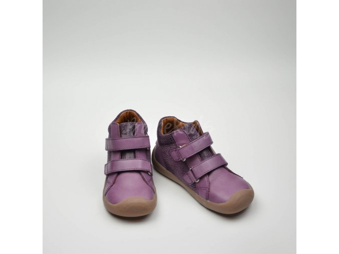 BUNDGAARD THE WALK VELCRO PURPLE GLITTER