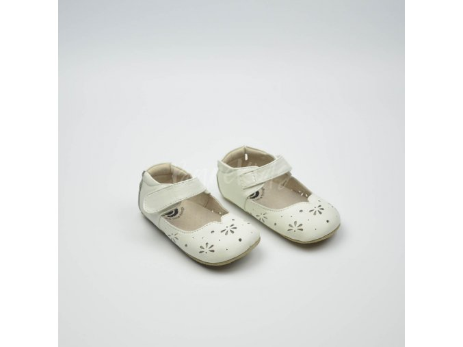 LIVIE & LUCA ASTRID MILK PERF - LEATHER