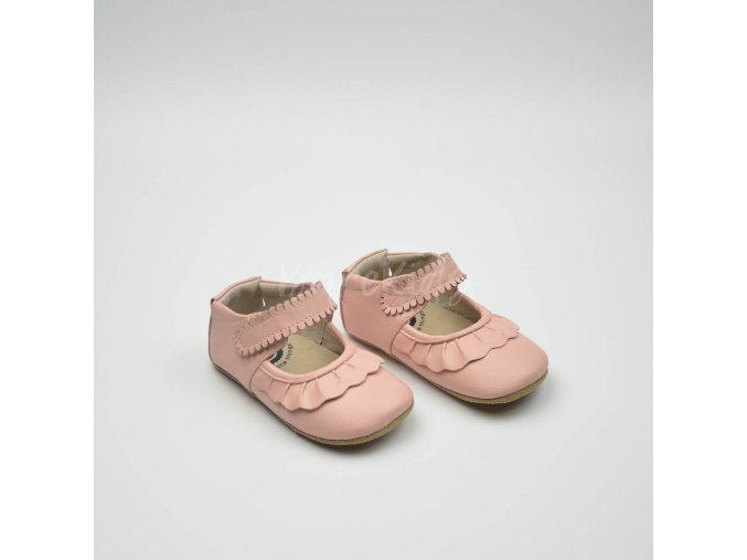 LIVIE & LUCA RUCHE SHELL PINK - LEATHER