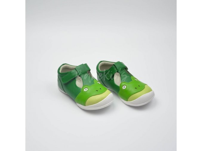 LIVIE & LUCA FROGGIE GREEN - LEATHER