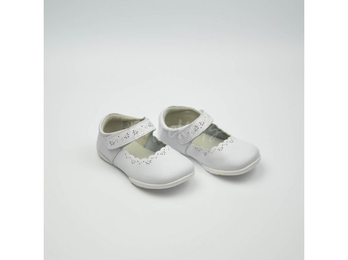 LIVIE & LUCA LILY BRIGHT WHITE - LEATHER