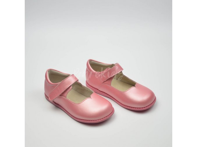 LIVIE & LUCA ASTRID GUAVA SHIMMER - LEATHER