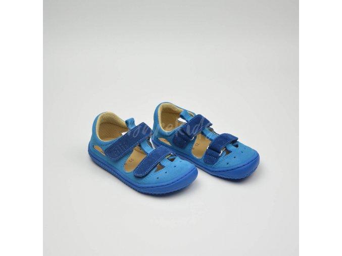 FILII KAIMAN VELCRO VELOURS TURQUOISE/BLUE