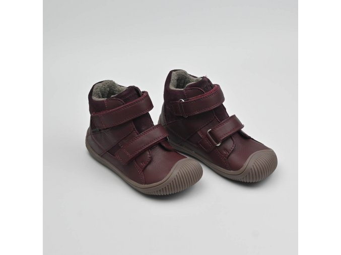 BUNDGAARD WALK VELCRO TEX PLUM